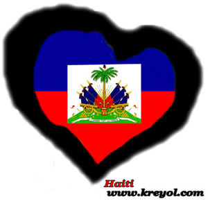Buy a Haitian Flag Heart Shirt