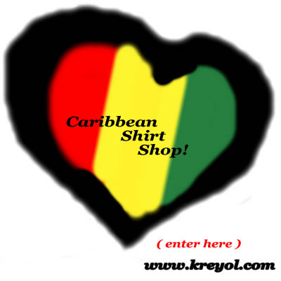 Buy a Caribbean Flag Heart Shirt - Designed by Nazaire